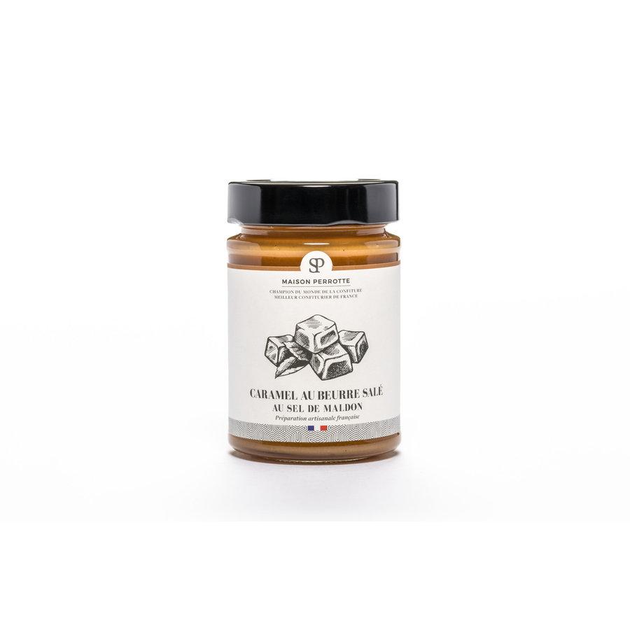 Caramel au beurre salé (Maldon) 220gr | Maison Perrotte