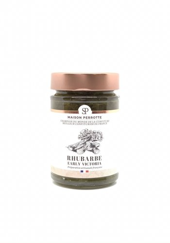 Confiture rhubarbe Early Victoria  220gr |  Maison Perrotte