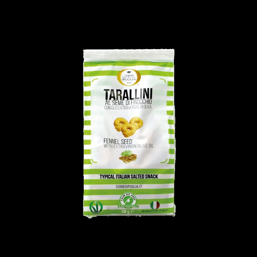 Tarallini fenouil 230gr Terra di Puglia