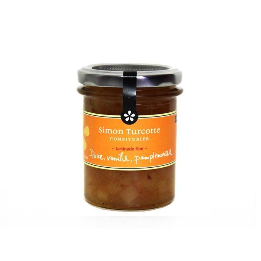 Petit dejeuner gourmet Poire, vanille, pamplemousse 125 ml