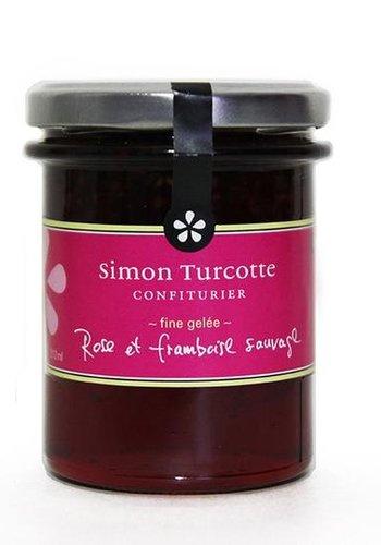 Petit dejeuner gourmet Gelee de rose et framboise sauvage 125 ml