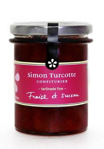 Petit dejeuner gourmet Fraise et sureau 125 ml | Simon Turcotte