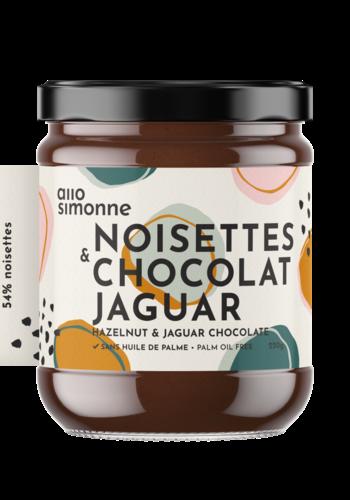 Noisettes, chocolat noir, Jaguar 220gr ALLO SIMONNE