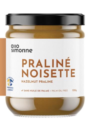 Praliné Noisettes 70% ALLO SIMONNE 220gr