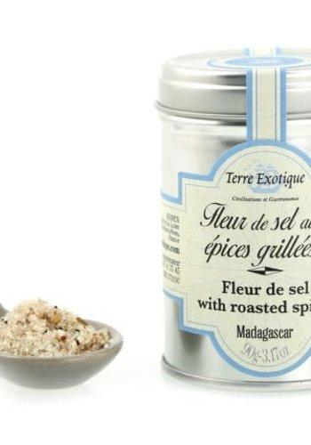 Fleur de sel  aux épices grillées 90g  (Terre Exotique)