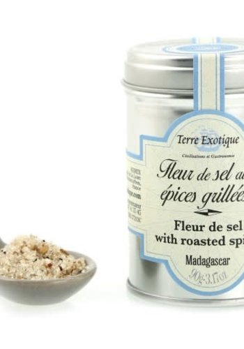 Fleur de sel with grilled spices  90g  (Terre Exotique)