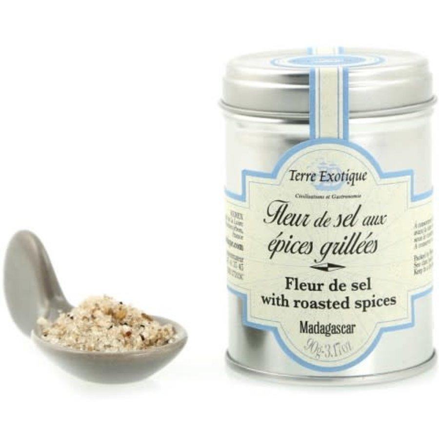 Fleur de sel with grilled spices90g  (Terre Exotique)