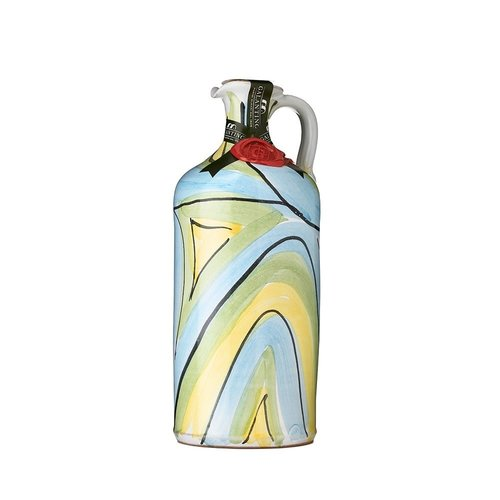 Olive oil ceramic jar 500 ml | Galantino