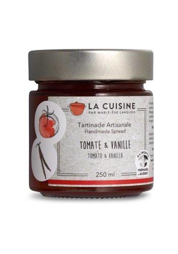 La Cuisine par Marie-Ève Langlois | Tartinade de tomates et vanille fraiche | 250 ml