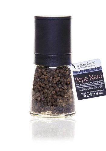 Black pepper mill 70g | Il Boschetto