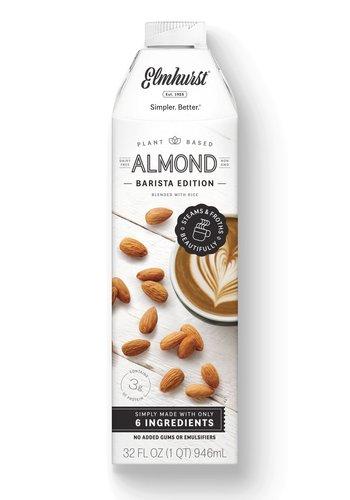 Milked Almonds - Barista Edition  946ml |Elmhurst|