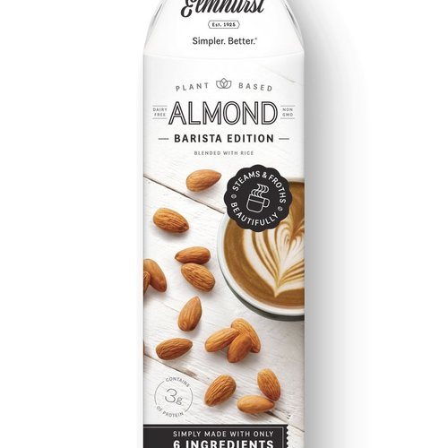 Milked Almonds - Barista Edition  946ml |Elmhurst|