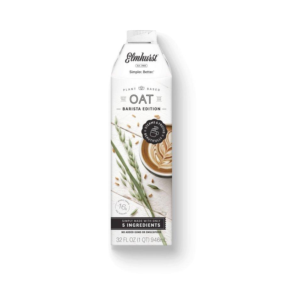 Milked Oats - Barista Edition 946ml |Elmhurst|