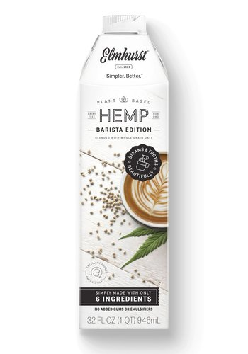 Milked Hemp - Barista Edition 946ml |Elmhurst|