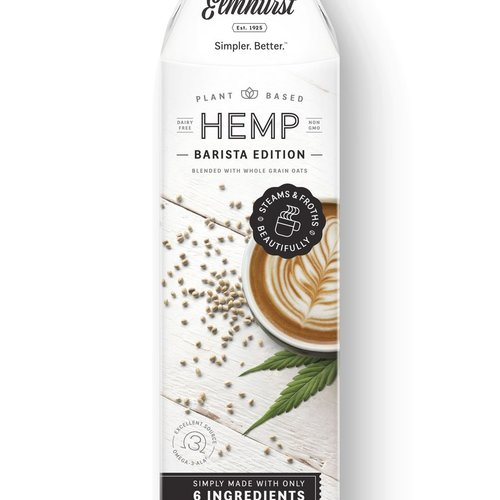 Milked Hemp - Barista Edition 946ml |Elmhurst|