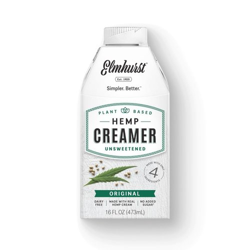 Original Hemp Creamer  473ml |Elmhurst|