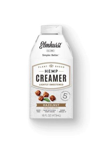 Hazelnut Hemp Creamer 473ml |Elmhurst|