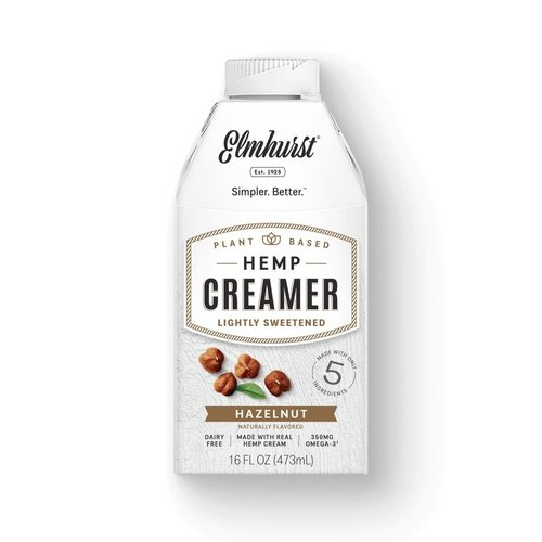 Hazelnut Hemp Creamer 473ml |Elmhurst|