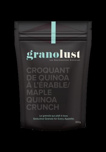 Granolust Croquant de quinoa à l'érable 70g