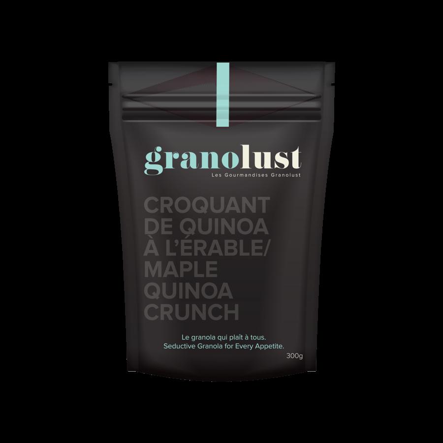 Granolust - Croquant de quinoa à l'érable 70g