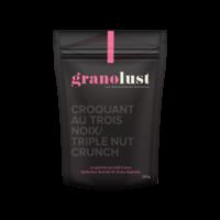 Granolust - Croquant au trois noix 300g