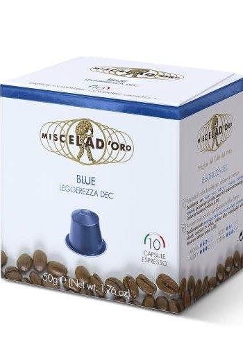 Cafe capsule compatible Nespresso  decafeine 10 capsules