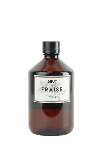 Bacanha Organic Strawberry Syrup 500 ml