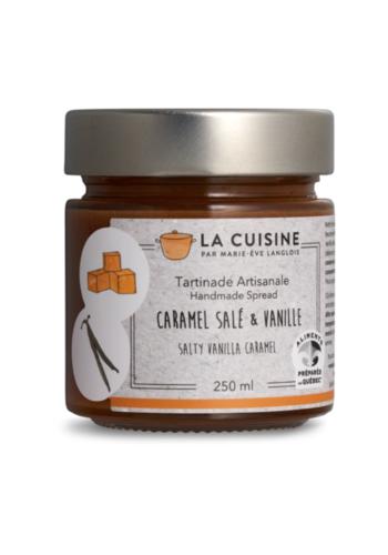 Marie-Ève Langlois | Caramel salé et vanille fraiche | 250ml