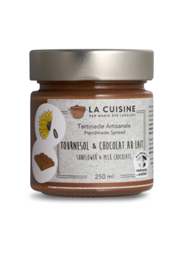 Marie-Ève Langlois | Sunflower and Milk Chocolate | 250 ml