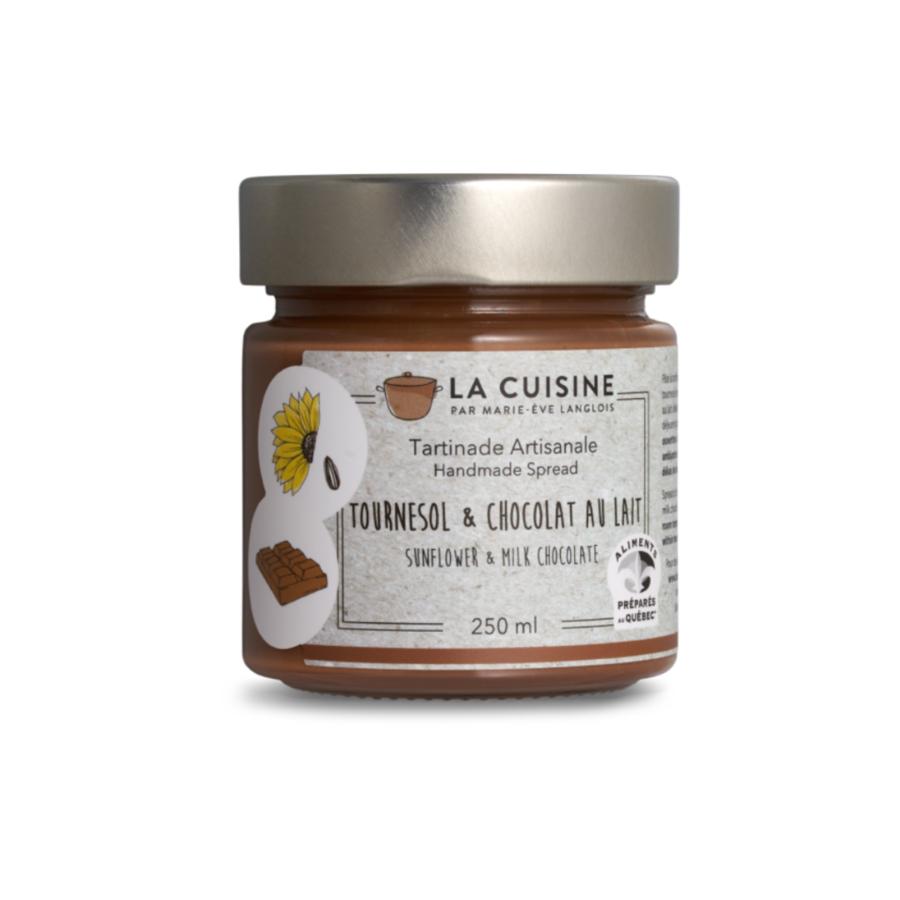 Marie-Ève Langlois | Tournesol et chocolat lait | 250 ml