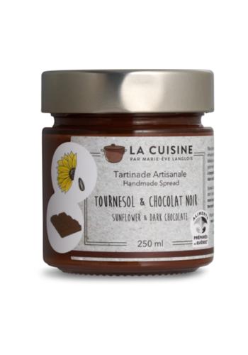 La Cuisine par Marie-Ève Langlois | Tournesol praliné et chocolat noir | 250 ml
