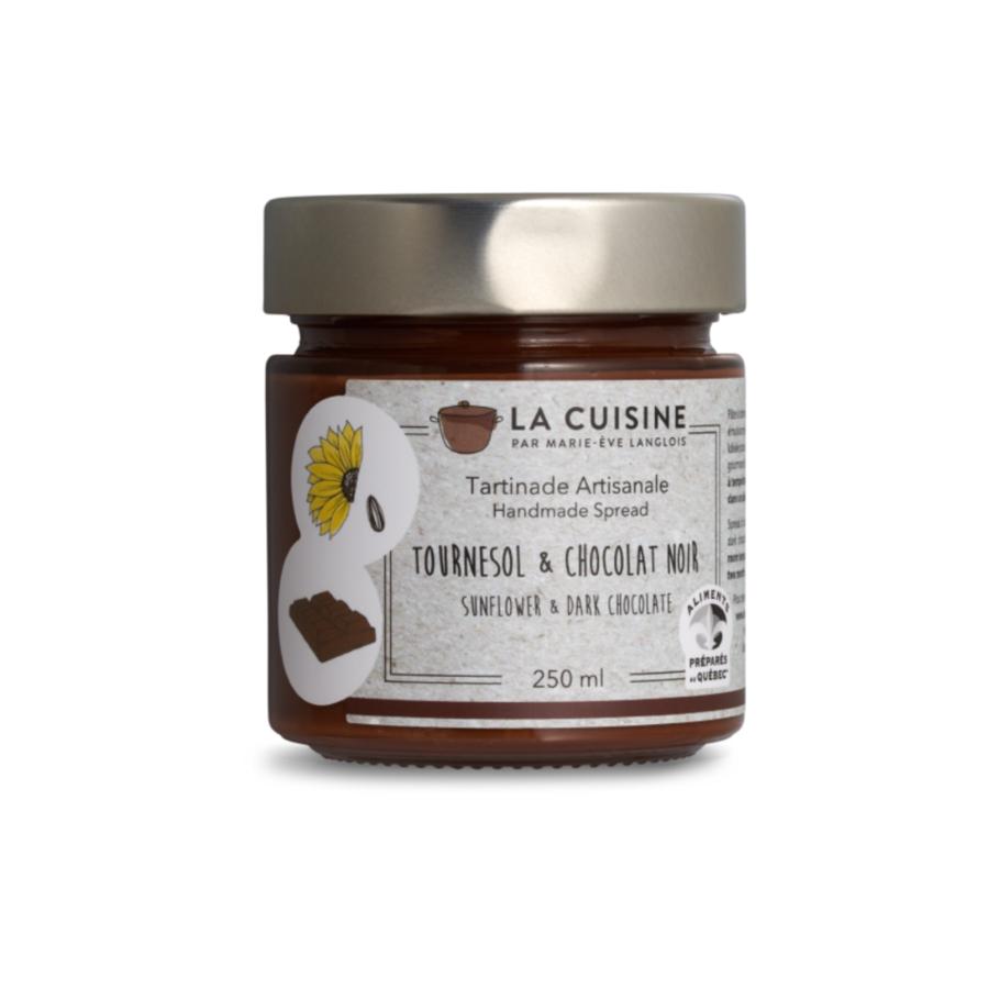 La Cuisine par Marie-Ève Langlois   Tournesol praliné et chocolat noir   250 ml