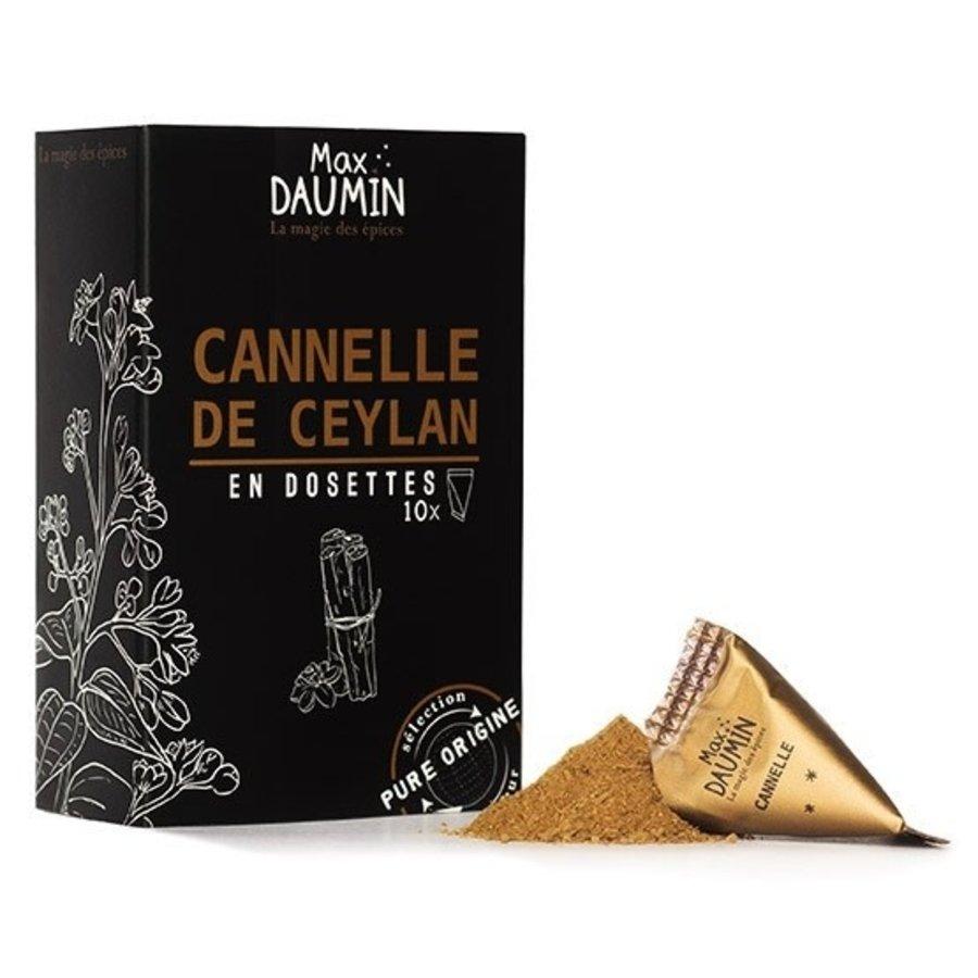 Max Daumin - Cannelle de Ceylan - 10 dosettes