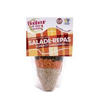Le Bonheur est dans l'assiette - Salade-repas au Quinoa et canneberges