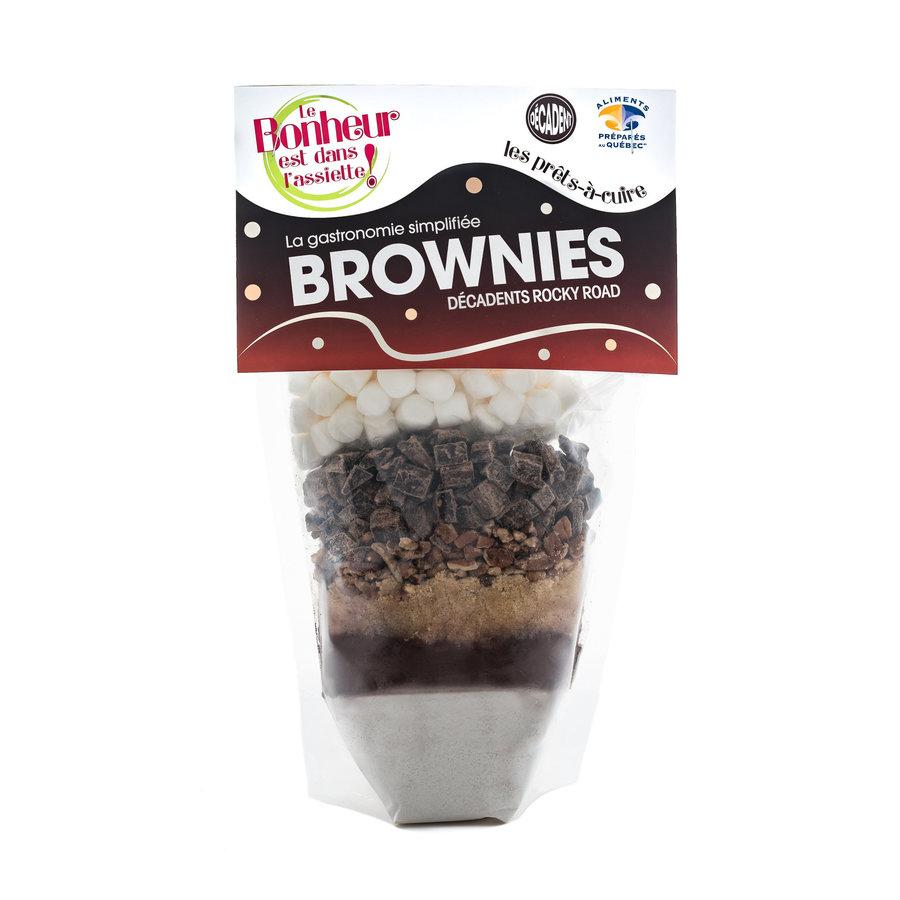 Le Bonheur est dans l'assiette - Brownies Décadent en sac