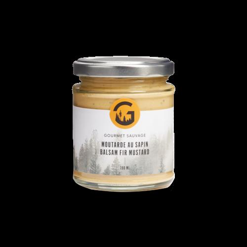 Moutarde au sapin 190 ml  Gourmet Sauvage