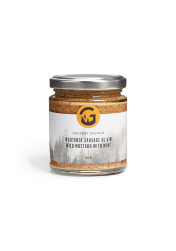 Moutarde Sauvage au vin190 ml |Gourmet Sauvage