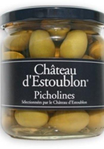 Olives Picholine  350g  |Château d'Estoublon 350 g