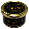 Mousse de foie de cerf au Brandy et Cognac 80g   Cerfs Rouges Labrecque