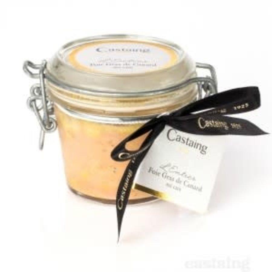 Foie gras entier de canard 80 Castaing