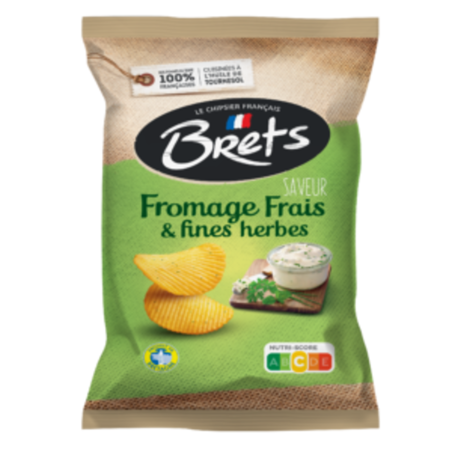 Brets Fromage frais et fines herbes 125gr