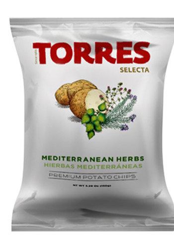 Croustilles à l'huile d'olive et herbes méditerranéennes 150g | Torres