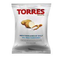 Croustilles à l'huile d'olive et sel méditerranéen 150G | Torres