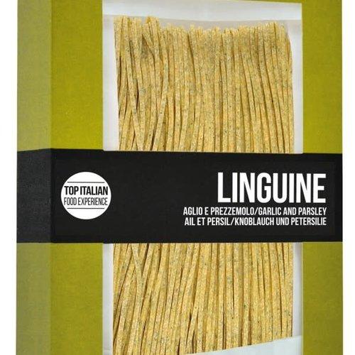 Filotea linguine Chitarrone garlic & parsley 250g