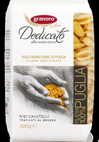 No 87 Cavatelli Granoro Dedicato (100% Puglia) 500g