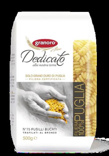 Fusili Bucati No 75 Granoro  Dedicato ( 100% Puglia) 500g