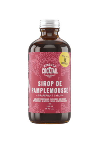 Monsieur Cocktail - Sirop de pamplemousse - 250 ml