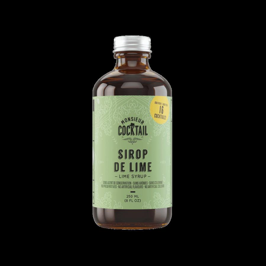 Monsieur Cocktail - Sirop de lime - 250 ml