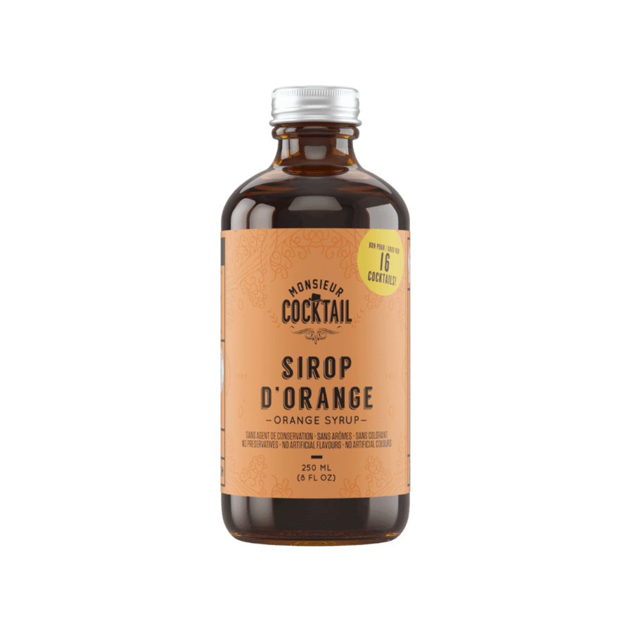 Monsieur Cocktail - Sirop d'orange - 250 ml