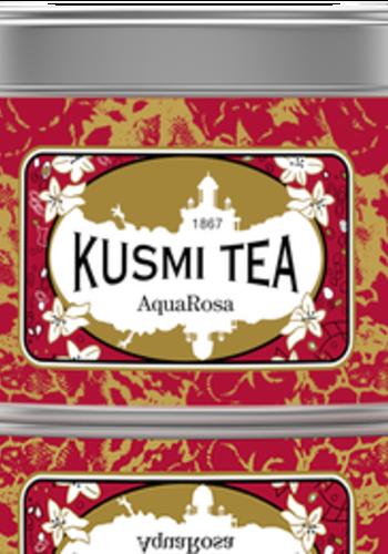 Kusmi Tea - Aqua Rosa - Boîte métal 125g
